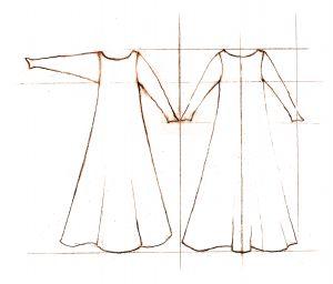 10-14th c  Wool Kirtle