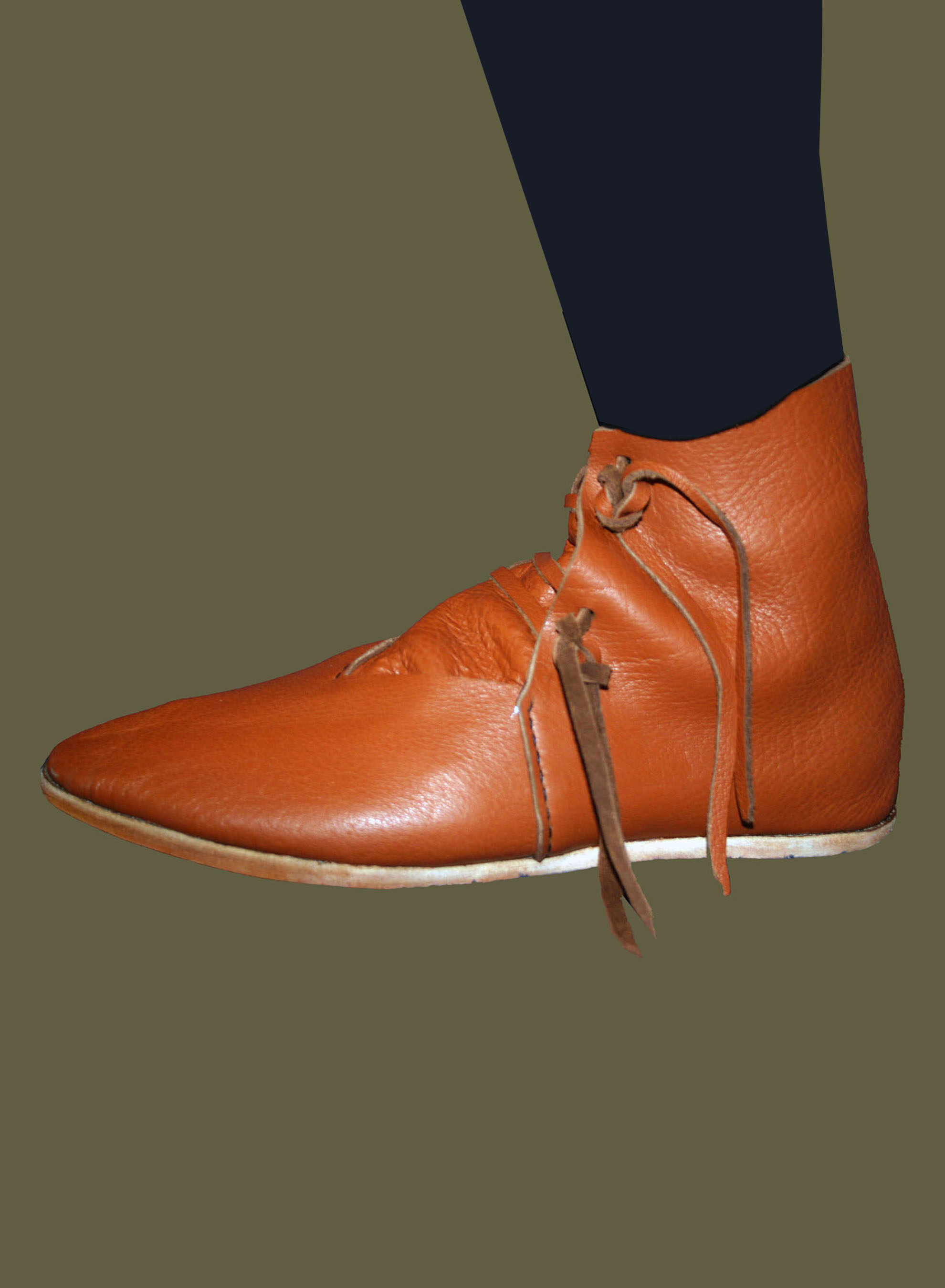 538d650bc2b65 Medieval Tie Ankle Boots